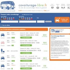 Un site de covoiturage libre et gratuit, Covoiturage-libre