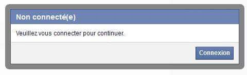 facebook-connexion