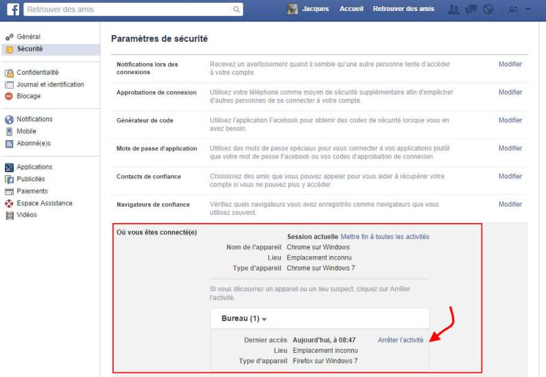 facebook-deconnexion-distance