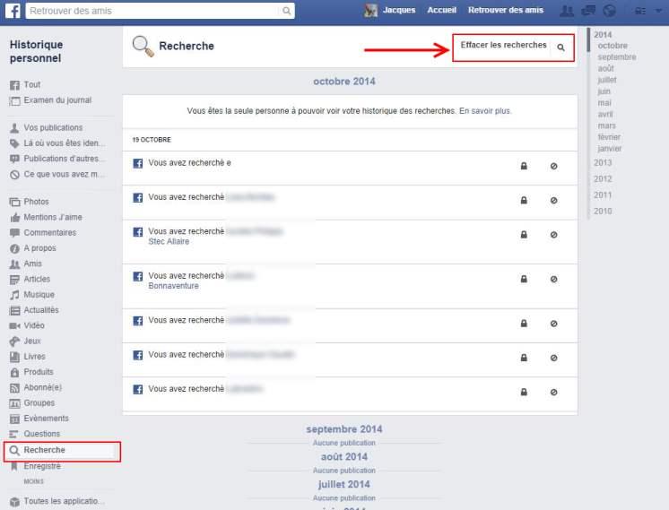 facebook-effacer-historique