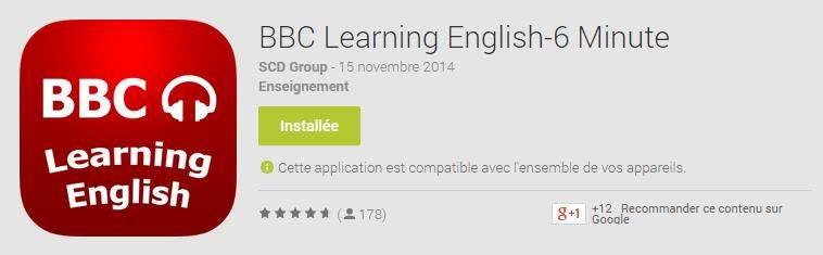 Apprendre l'anglais avec la BBC, Learning English