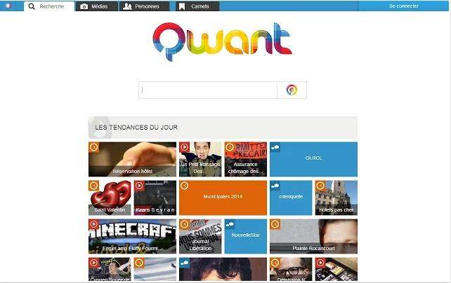 Rechercher dans Qwant depuis Chrome