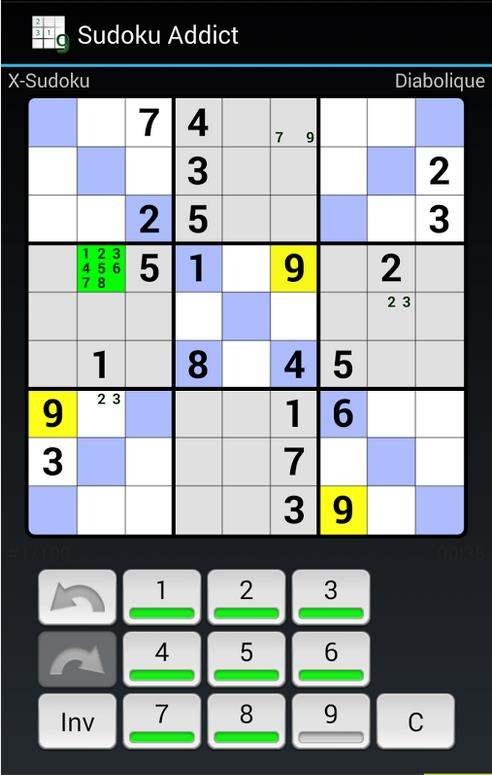 Jouer au Sudoku sur Android, Sudoku Addict