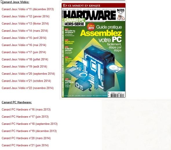 Lire gratuitement les derniers numéros de Canard PC