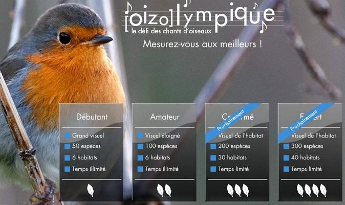 Le défi du chant des oiseaux, Oizolympique