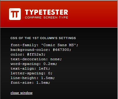typetester-css