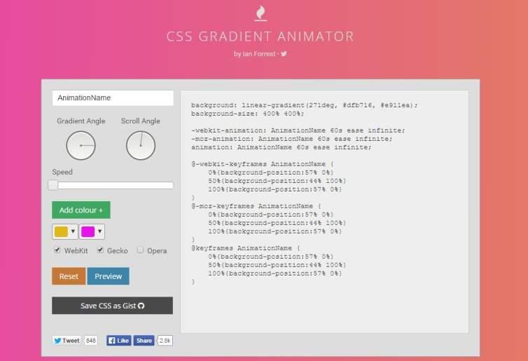 css-gradient-animator