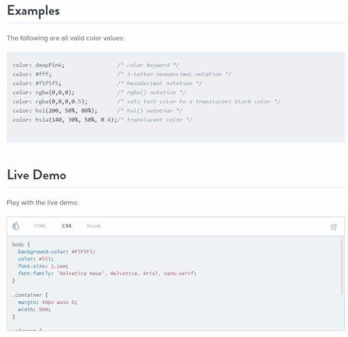 css-reference-exemple