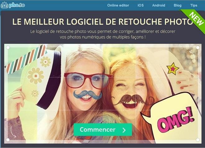 Une trousse à outils photo en ligne, pho.to