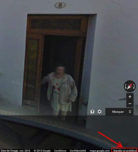 Comment effacer sa maison de Google Street View