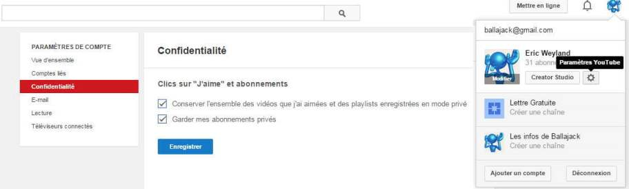 youtube-confidentialite