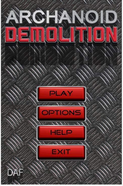 Un jeu de casse-briques sur Android, Archanoid Demolition