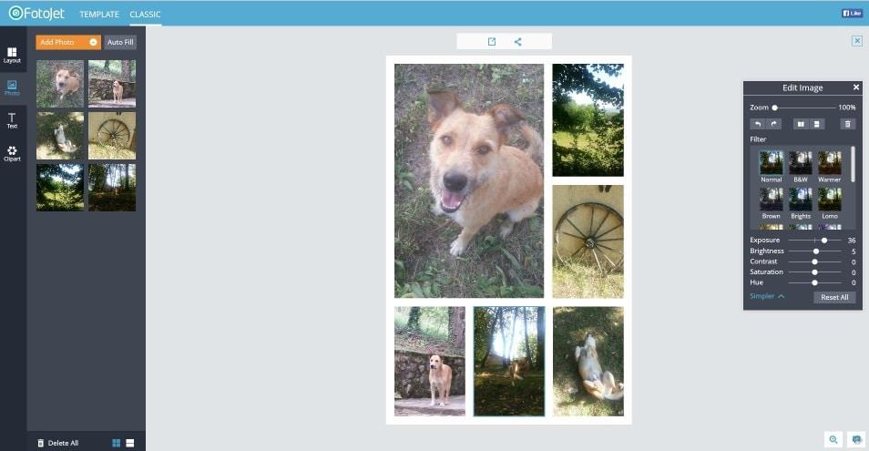 fotojet-interface