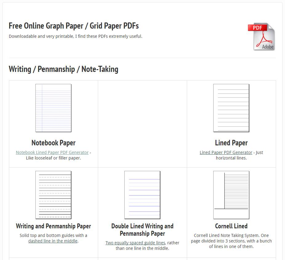 free-online-graph-paper