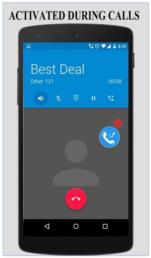 Prendre des notes pendant un appel sur un téléphone Android