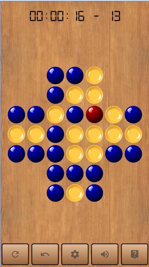 Un jeu de solitaire pour Android, Peg Solitaire