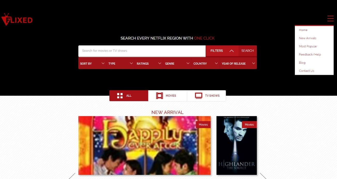 Des moteurs de recherche mondiaux pour Netflix