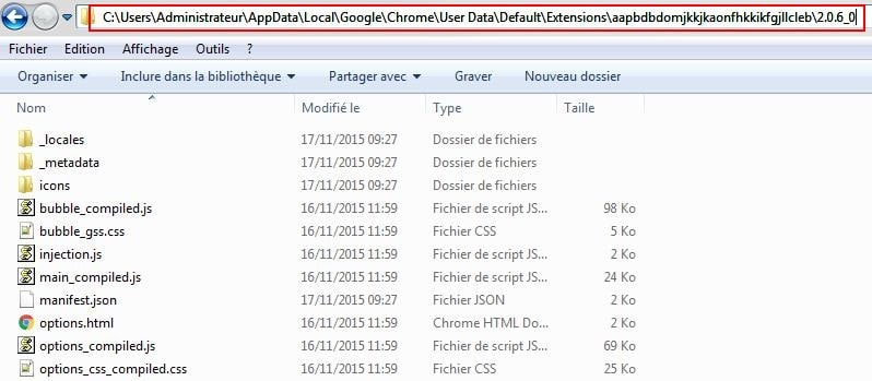 chrome-dossier-extension