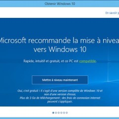 Empêcher l'installation de Windows 10, GWT Control Panel