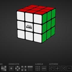 Jouer en ligne avec le Rubik's cube + Méthode de résolution