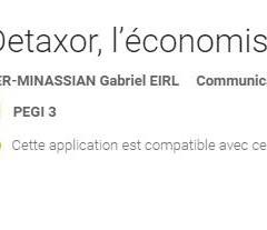 Numéros surtaxés au tarif local sur Android, Detaxor