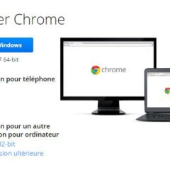 Comment installer la version 64 bits de Chrome