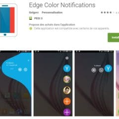 Des notifications lumineuses sur Android