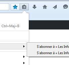 Utilisation des marques pages dynamiques dans Firefox