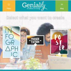 Un outil de présentation en ligne, Genial.ly