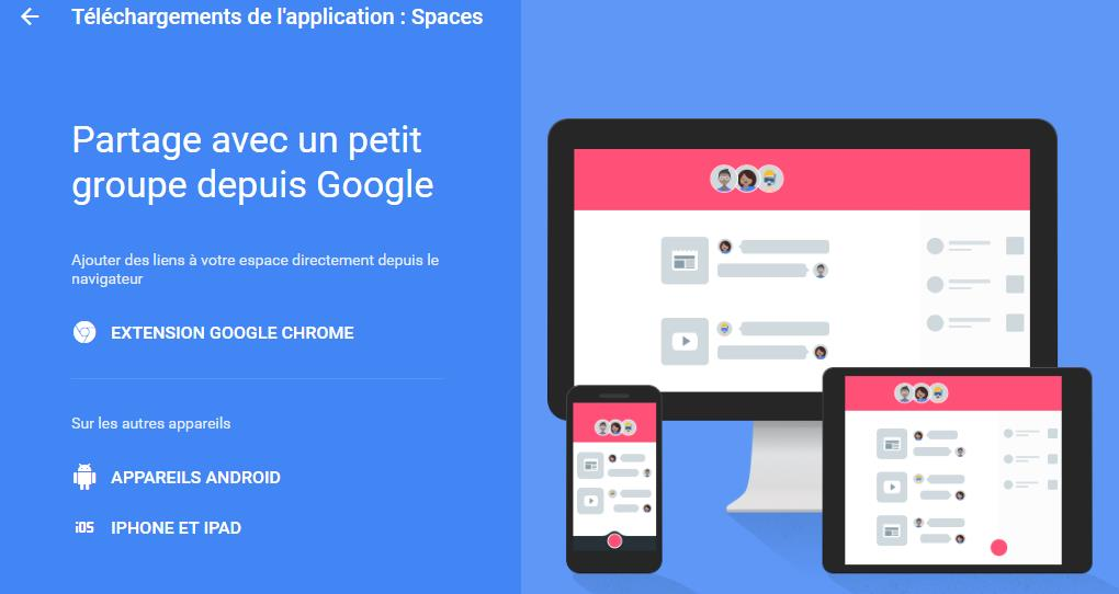 google-spaces-applications