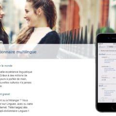 Un dictionnaire multilingue pour Android, Linguee