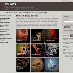 80 000 fichiers audio sur le site de la British Library