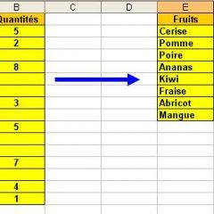 Supprimer des lignes vides dans Excel