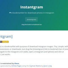 Sauvegarder des photos depuis Instagram