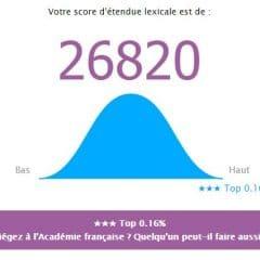 Tester en ligne son vocabulaire en français
