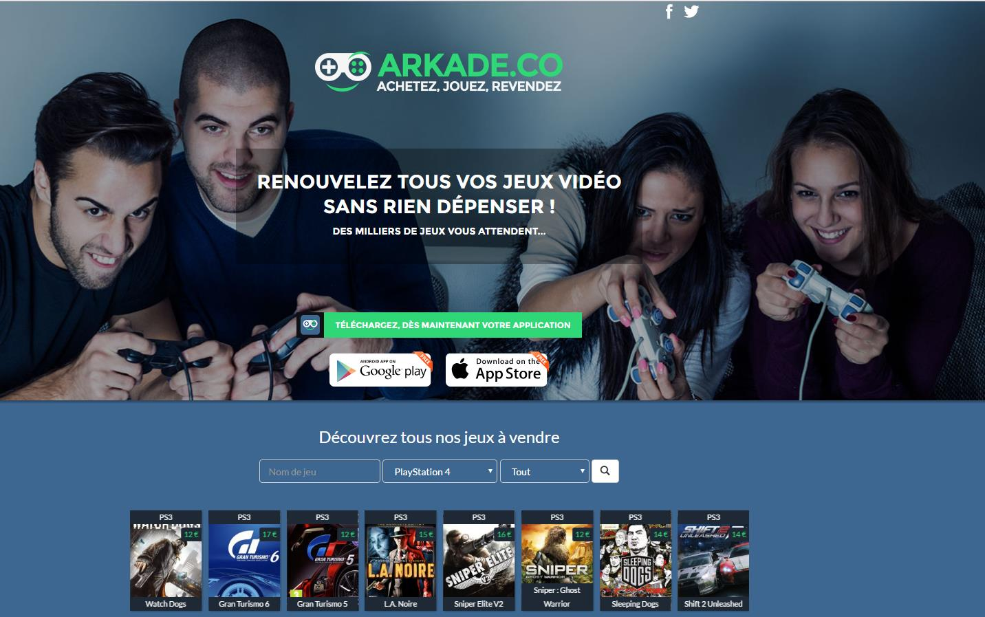 arkade-site-web