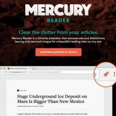 Améliorer la lecture des pages Web