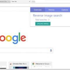 Une extension de recherche inversée d'images multimoteur
