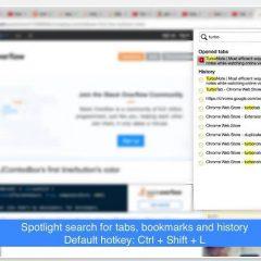 Une recherche améliorée pour Chrome