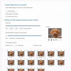 Un éditeur de GIF animés en ligne, GIFCreator
