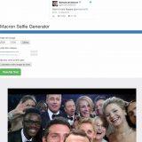 Un selfie avec Emmanuel Macron, c'est possible