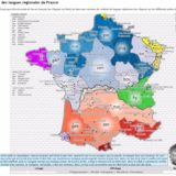 La carte sonore des langues régionales de France