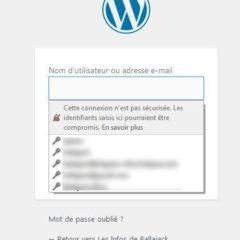"""Désactiver le message """"Cette connexion n'est pas sécurisée"""" dans Firefox"""