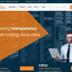 Un site qui compare plus de 20 000 hébergeurs Web