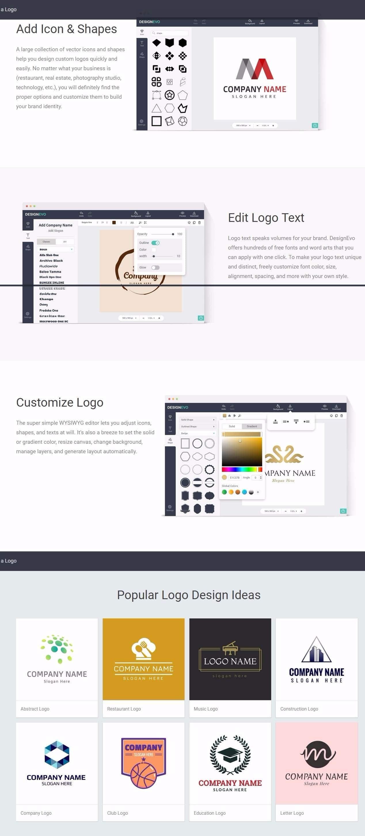 designevo-screeens