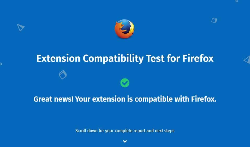 extension-compatibility-test-firefox-result