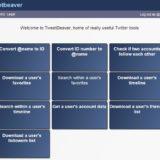 Extraction de données depuis Twitter avec Tweetbeaver