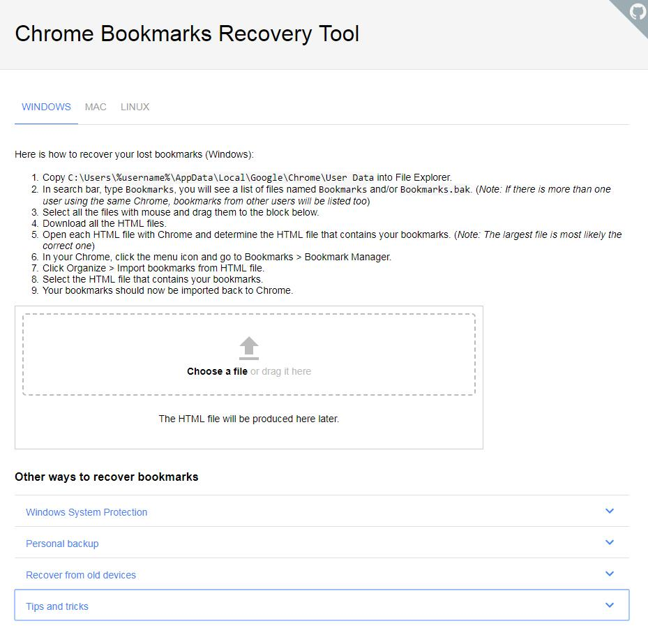chrome-bookmarks-recovery-tools
