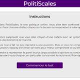 Un test en ligne pour se situer politiquement