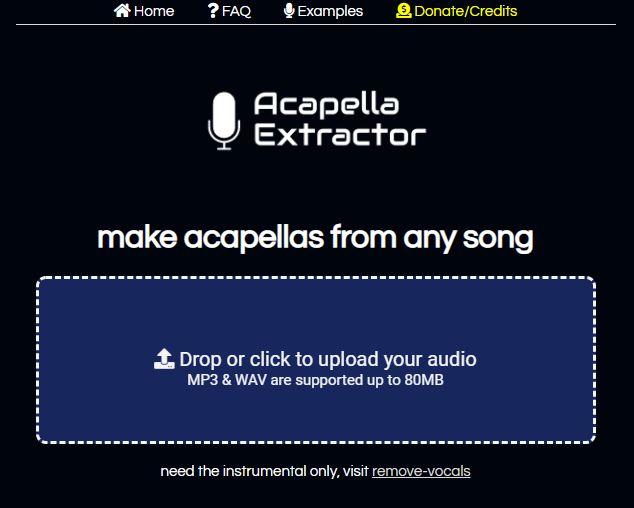acapella-extractor